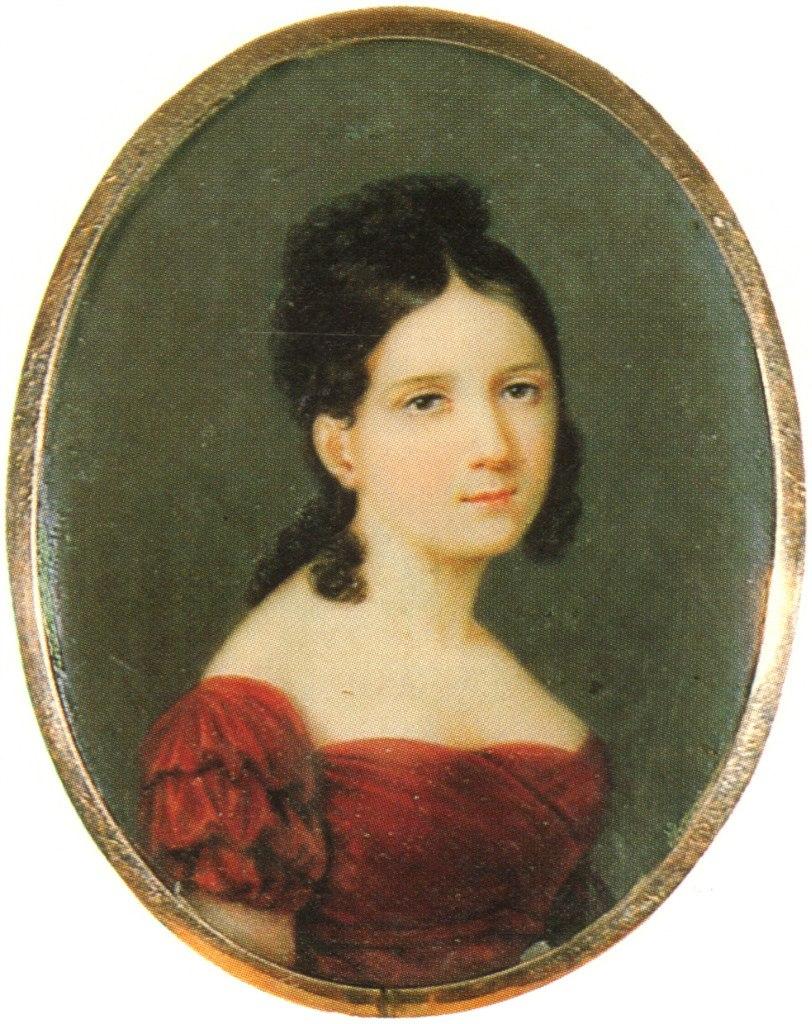 К.Я. Рейхель.Портрет княжны Натальи Павловны Шербатовой, 1861