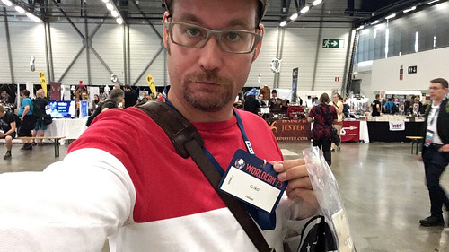 Kriko at the Worldcon