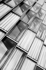 Office windows - An oblique view