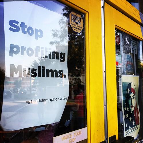 Stop profiling Muslims.