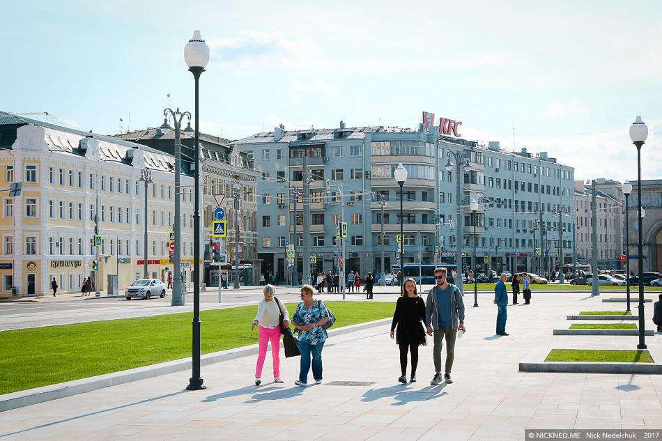 Площадь у Белорусского вокзала просто не узнать! IMG_4227