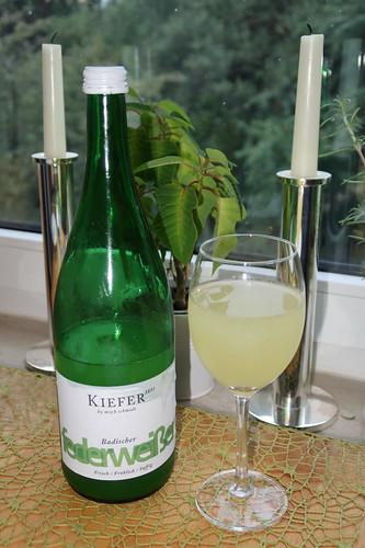 Badischer Federweißer (vom Weingut Kiefer bzw. vom Weinfachgeschäft Wein Fohs)