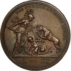 Libertas Americana Medal reverse