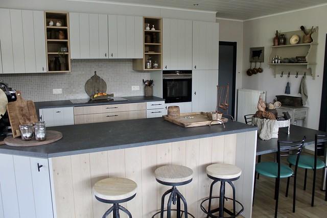 Keuken Belgische landelijke stijl