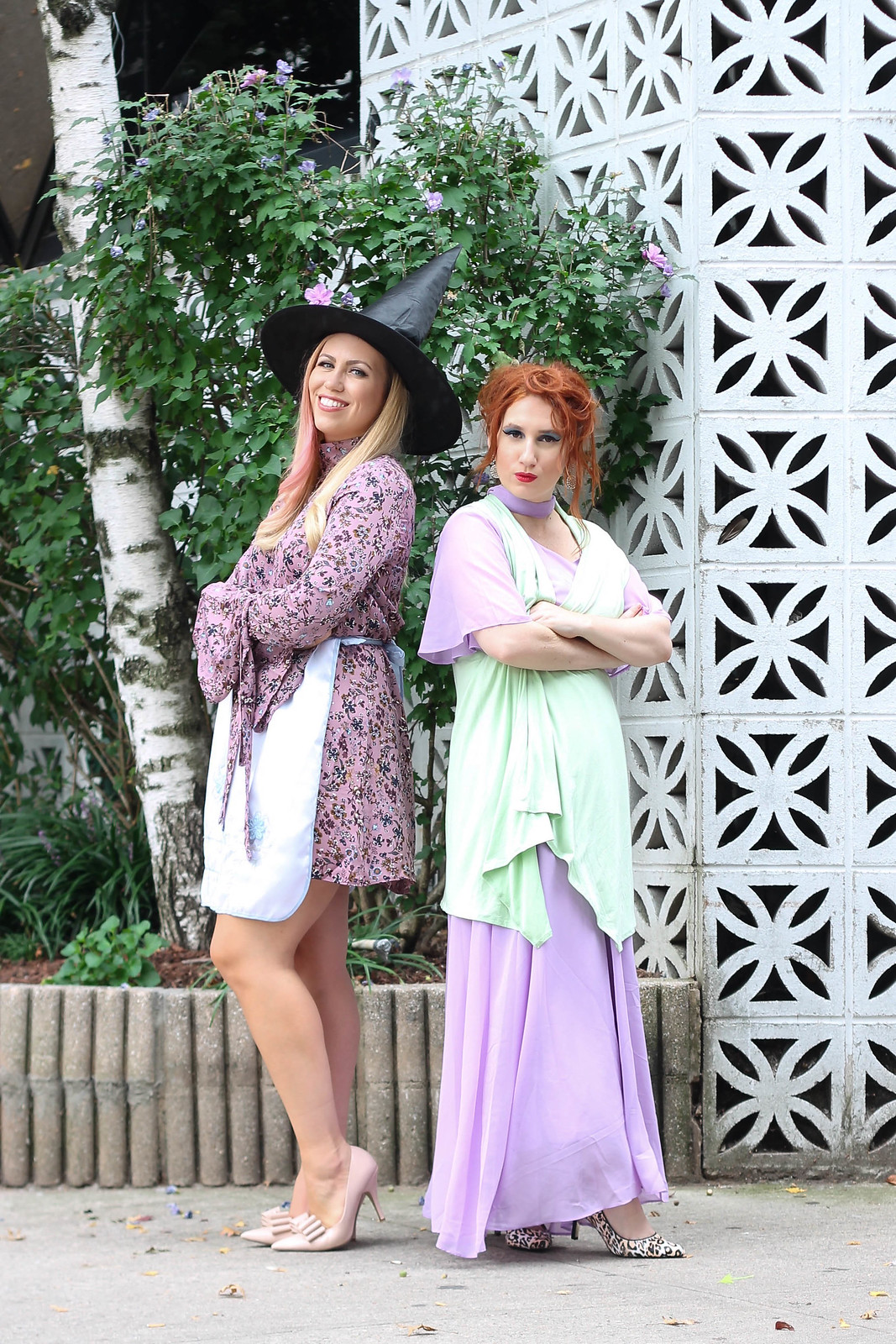 Throwback 60s Halloween Costume Ideas Bewitched TV Series Mother Daughter Modest Costumes