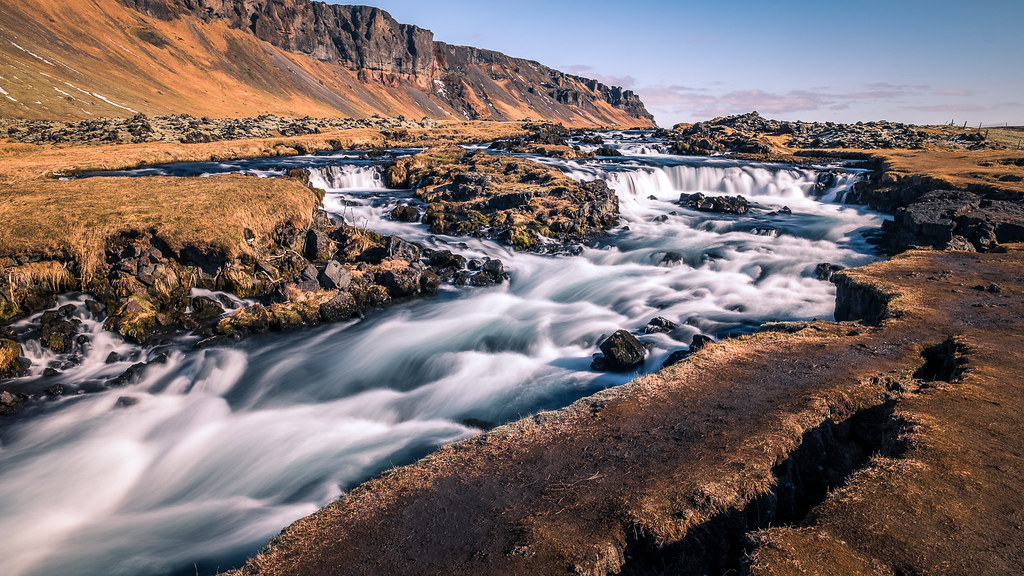 Foss waterfall, Iceland picture