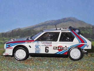 Lancia Delta S4 - RAC 1985