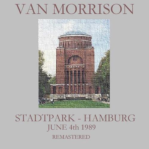 Van Morrison Stadtpark Hamburg front