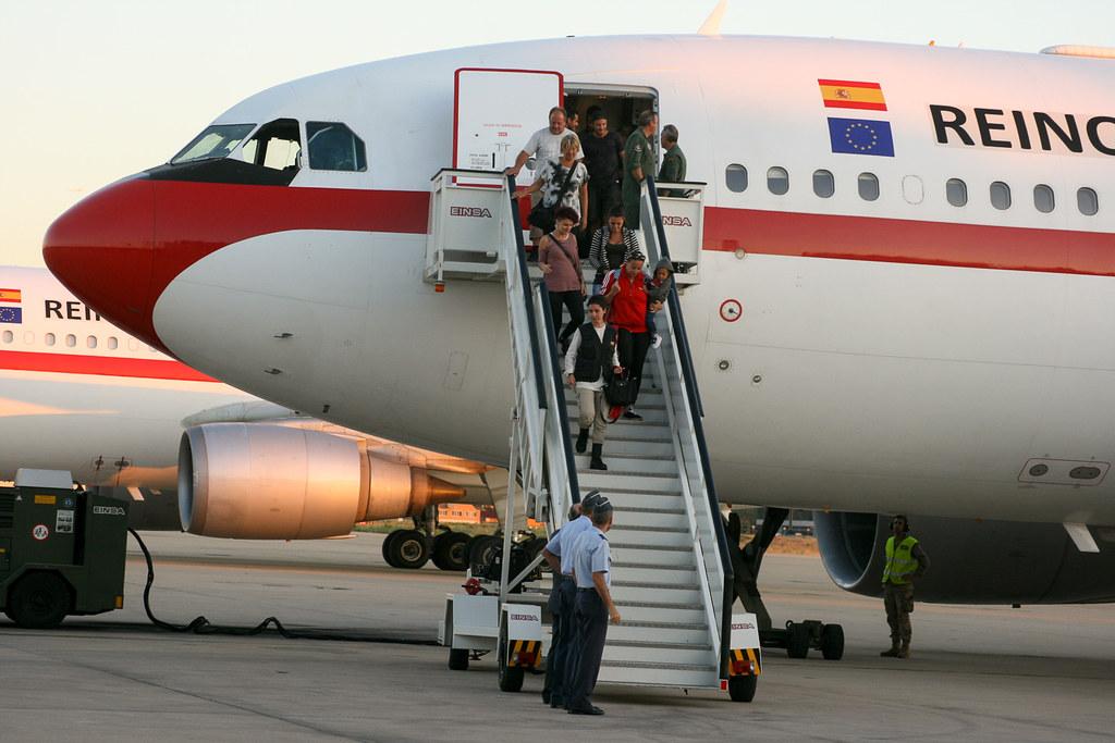 Repatriación en un T.22