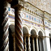 Cloister (1215-1232) by Vassalletto, with mosaics and inscription - San Giovanni in Laterano Church in Rome