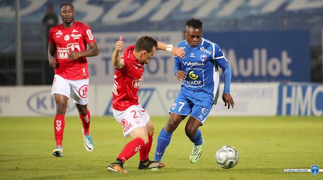 Foot Ligue 2 - Chamois Niortais FC - Stade Brestois (19/09/2017)