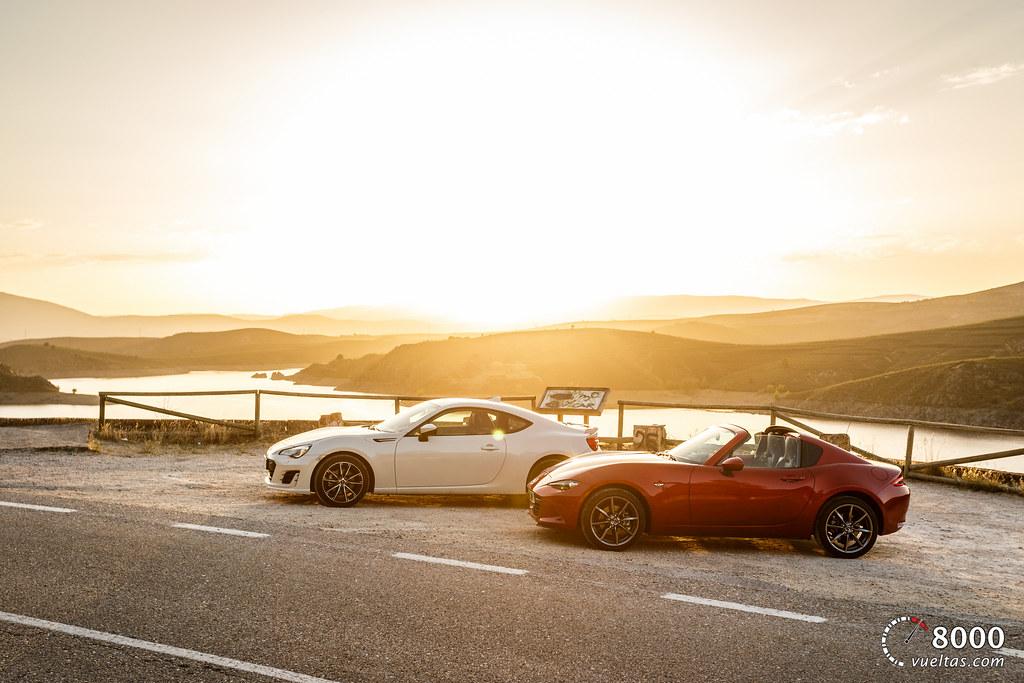 Mazda MX5 RF vs SUBARU BRZ - 8000vueltas-41
