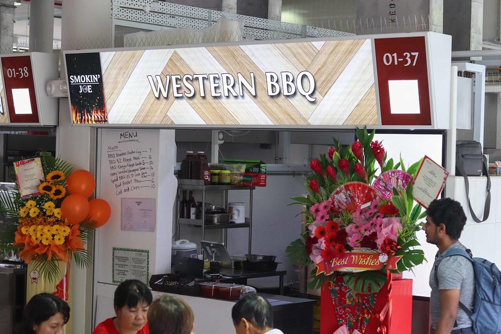Yishun Park Hawker Centre: Smokin Joe Western BBQ