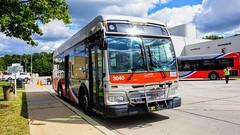 WMATA Metrobus 2012 Orion VII 3G Diesel #3040