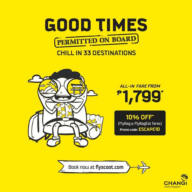 Scoot Promo Good Times On Board
