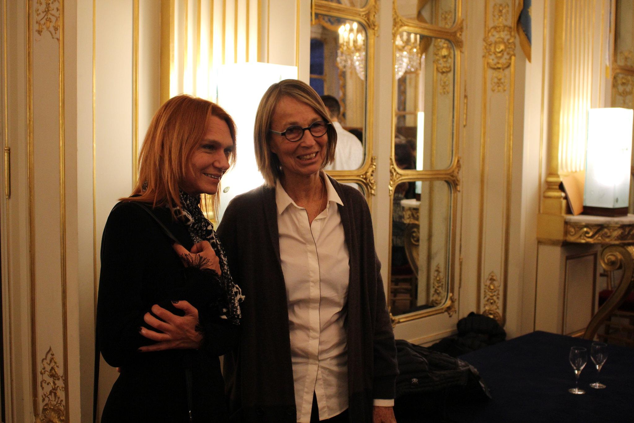 Françoise Nyssen et Asli Erdogan - La France à Francfort