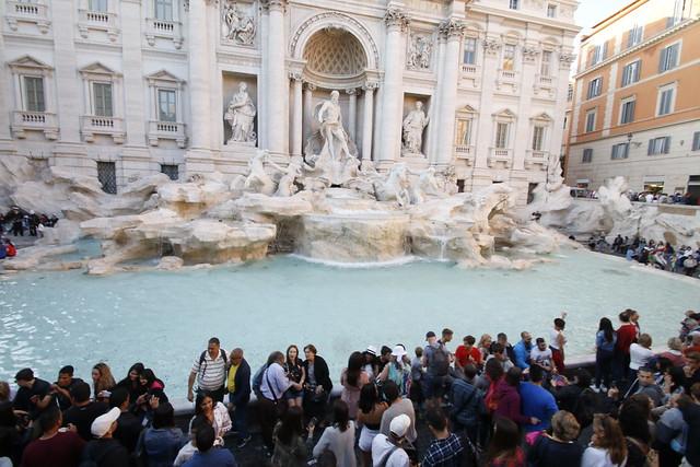 La fontaine du trevi