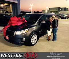 #HappyBirthday to April from Rick Hall at Westside Kia!