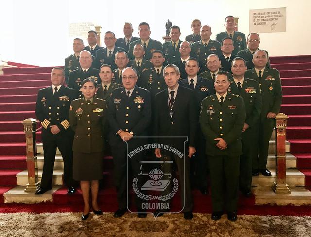Clausura Curso de Agregados Militares -CAMI- 2017