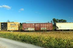 Wisconsin Central boxcar on 16T, Shenandoah Junction, WV