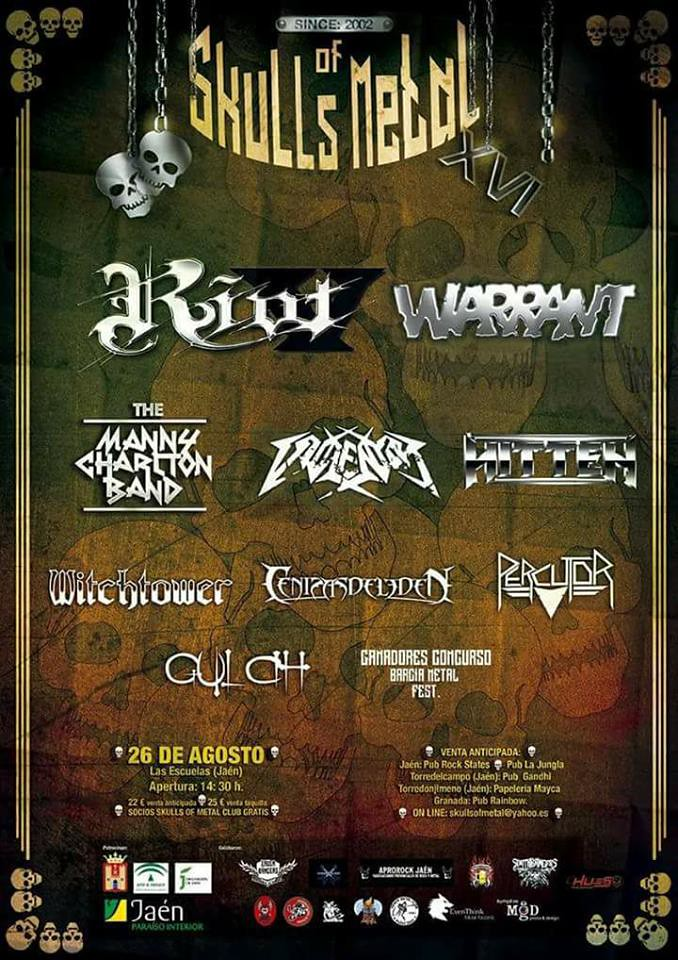 Skulls of Metal 2017 poster