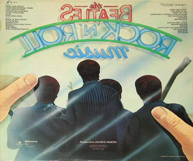 "Beatles Rock and Roll Music 12"" Vinyl LP"