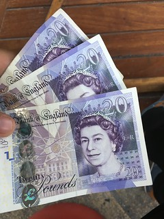 Some british pounds