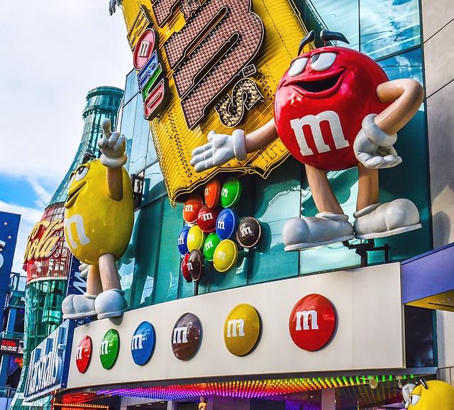 M&M's World store in Las Vegas