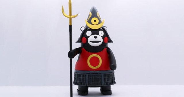 FUJIMI 「熊本熊 鎧甲版本」組裝模型!!Ptimoシリーズ No.6 くまモンのプラモ 鎧兜バージョン
