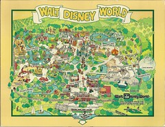 Walt Disney World Map With Hotels.1980 Walt Disney World Dial Map In August 1983 We Visited Flickr