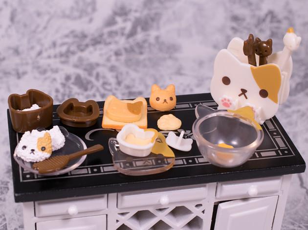 ちょこっとレビュー エポック にゃんこキッチン にゃんこ家電 ミケ猫バージョン