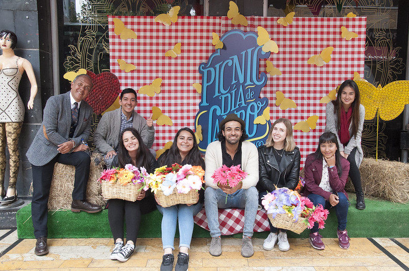 Estudiantes de intercambio recorrieron Bogotá