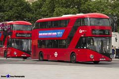 Wrightbus NRM NBFL - LTZ 1418 - LT418 - Dulwich Library 12 - Go Ahead London - London 2017 - Steven Gray - IMG_0277