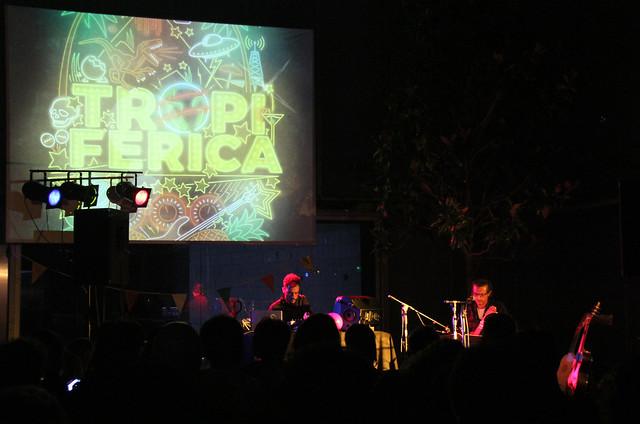 RADIO CARCANCHA - MOISÉS ARNÁIZ & PABLO PINO EN EL PROGRAMA TROPIFÉRICA DEL MUSAC - LEÓN 3.8.17