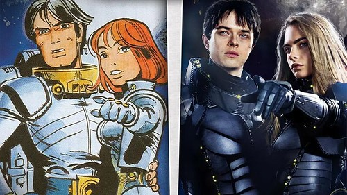 Valerian - Comics & Film Comparison