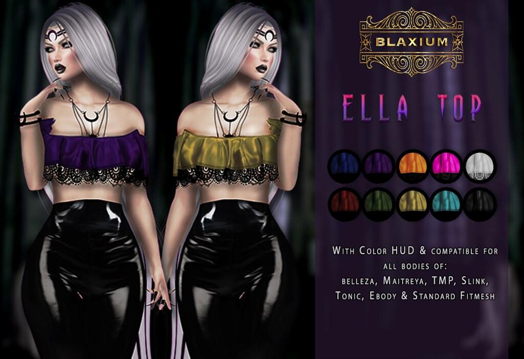 ELLA TOP @ ELITE - SecondLifeHub.com