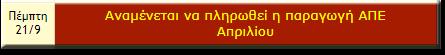 ΠΛΗΡΩΜΕΣ ΛΑΓΗΕ