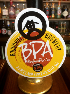 Roundhill Brewery, BPA (Billingham Pale Ale), England