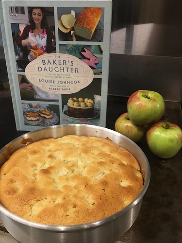 Making Apple Cake from The Baker's Daughter | Evinok.com