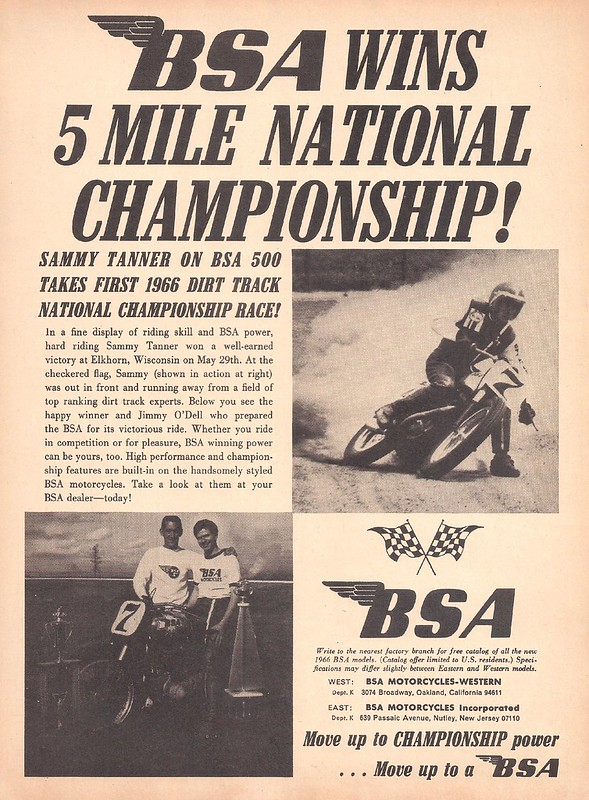 BSA Sammy Tanner