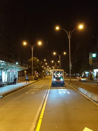 自動化無人小巴測試:信義路公車專用道