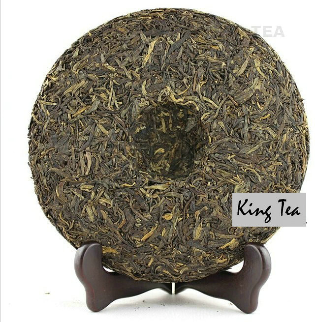 Free Shipping 2010 ShuangJiang MENGKU Tea Sprit Beeng Cake 500g China YunNan MengHai Chinese Puer Puerh Raw Tea Sheng Cha