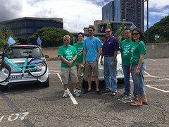Hawaiian Electric at the Electric Island Drive and Vehicle Fair - September 17, 2017: Team Hawaiian Electric