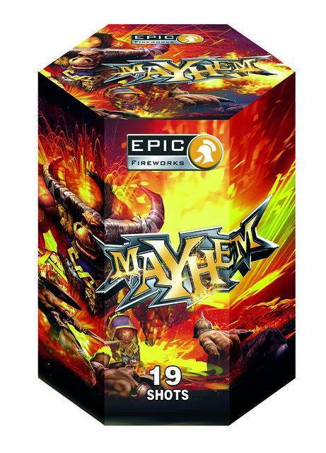 Mayhem 19 Shot CE Barrage #EpicFireworks