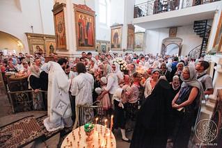 Литургия в Хутынском монастыре 480