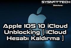 Apple IOS 10 iCloud Unblocking (iCloud Hesabı Kaldırma)