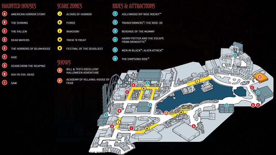 HHN27 Map