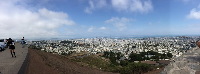 San Francisco Panorama viewed from Twin Peaks