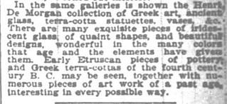 de Morgan NY Times Sun Mar 3, 1895, p.17