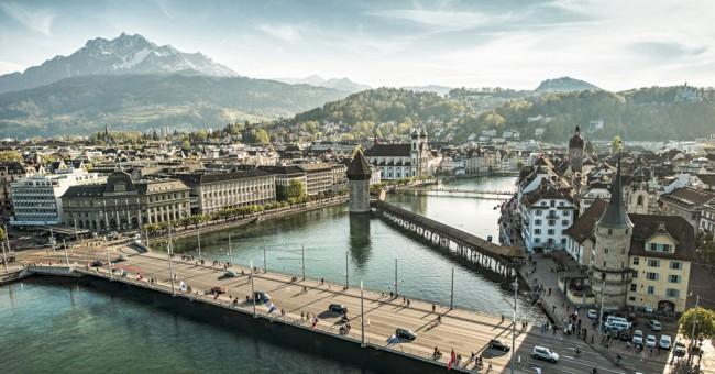 Lucern – nejmalebnější švýcarské město